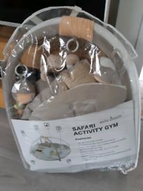 Safari Activity gym play mat