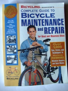 3 Bicycle Maintenance and Repair Manuals Road & Mountain bikes