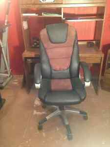 computer black office chair