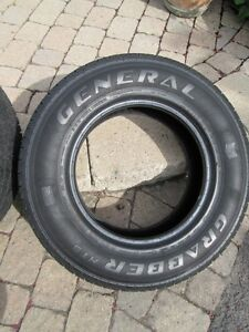2 Tires Pneus Light Truck LT225/75 R16   $70