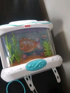 Crib aquarium