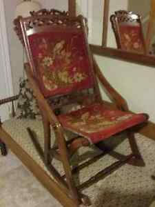 Folding Carpet Rocker - Reduced!!! Peterborough Peterborough Area image 2