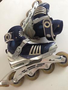"""Used """"Nike"""" Rollerskates"""