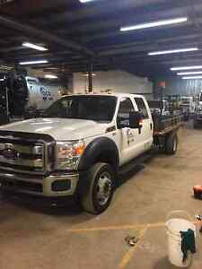 LOW KM'S  2 - Ford F-550 Crew Cab's