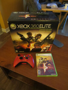 -- XBOX 360 Elite Resident Evil 5 Limited Edition --
