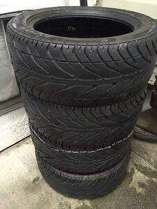 Set of Four 225/50/ZR16 performance tires