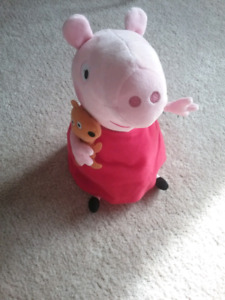 New Peppa Pig stuffed animal