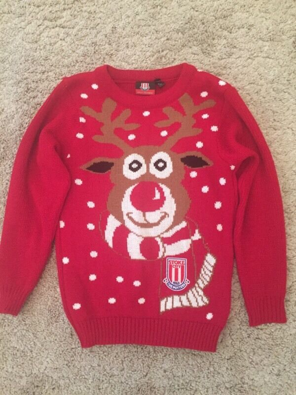 Stoke City Christmas Jumper age 9 10 in Stoke on Trent  : 86 from www.gumtree.com size 600 x 800 jpeg 82kB