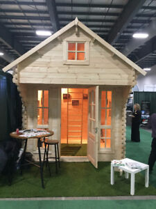 TINY TIMBER HOME, GARDEN SHED - BLOWOUT SALE