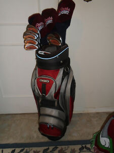 Full Set of RH Goliath Nite Hawk Golf Clubs - $375