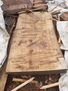 Ash Slabs live edge outdoor table or bar tops