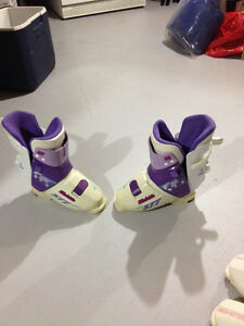 Rear entry boots, size 7
