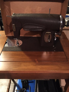 Antique Kenmore Sewing Machine Model # 117-959 with Cabinet
