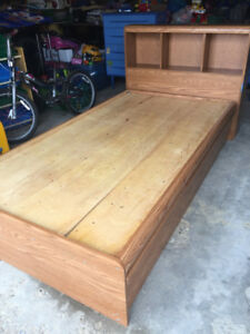 Twin Captains bed storage bed