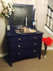 Liberty Blue - Reclaimed Antique dresser/ Sideboard