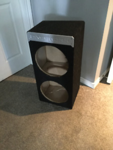 Speakers, woofer box