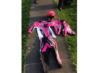 Motorbike outfit