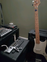 Rock band looking to rent practice space on a budget
