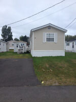2 bed mini home for rent,close 2 fredericton, private ,cheap