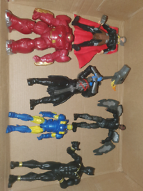 Marvel bundle of 6 inch figures can post