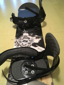 K2 Snowboard + Burton Boots, Bindings in Excellent Condition!