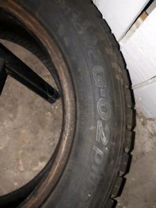 Winter tires x 4 -TOYO