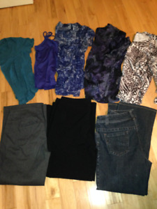 Women's jeans & pants size 13/14 and shirts size XL