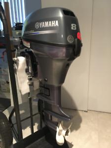 Moteur hors bord Yamaha 8 HP 4 temps pied court 2013-09