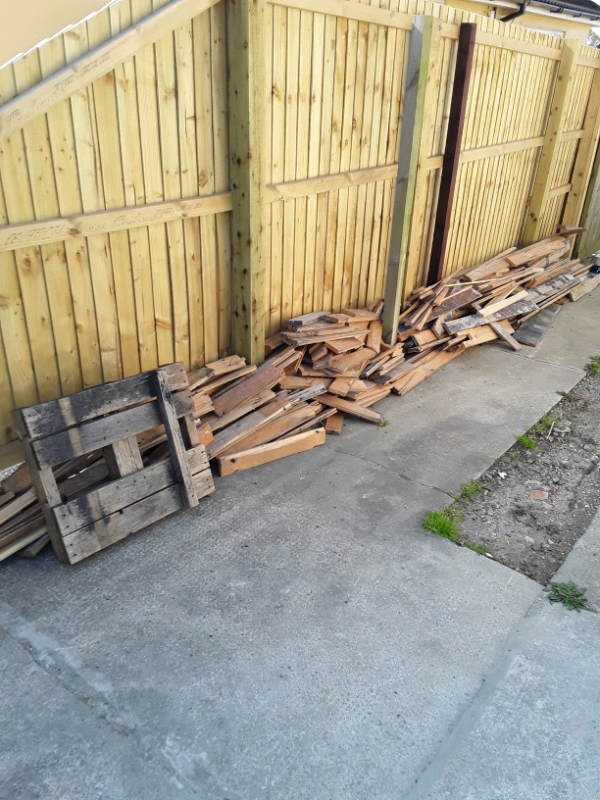 Free Old Floorboards for burning