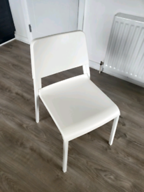IKEA TEODORES CHAIR - white