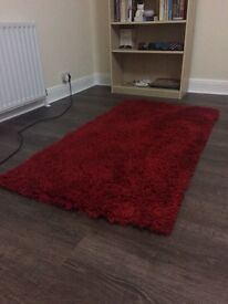 Luxury Thick Red Rug