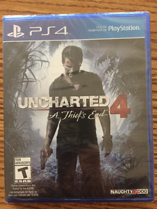 """PS4 Uncharted 4 """"A Thief's End"""""""