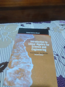 Intro to Linear Algebra for Science and Engineering 2nd ed.