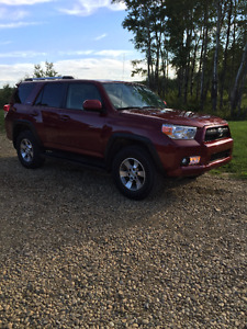 2012 Toyota 4Runner Leather one owner