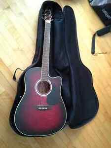 Jay Turser Acoustic Electric Cutaway Guitar
