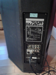 NX750P Powered Speakers