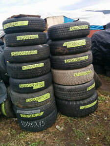 Many 15 inch Tires with Rims