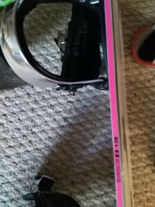 Sell lady's snowboard and snow boots