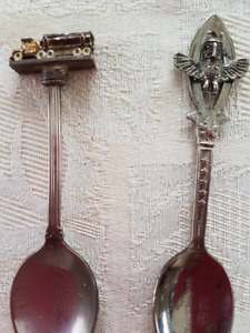 Vintage Collectible Spoons B.C. $10-$5