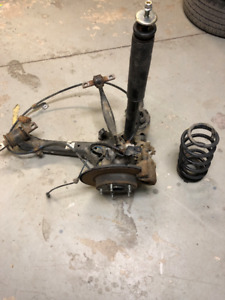2014 Honda Civic Complete Rear Suspension Assembly