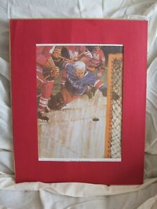 "Lester Patrick ""Great Moments in Canadian Sports"" Lithograph"