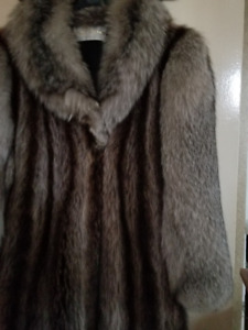 Alan's Cherry made Fur Coat