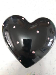 Heart shape dish
