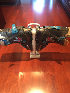 Salomon Ski Boots and bracket