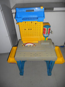 Fisher Price Tool Bench.