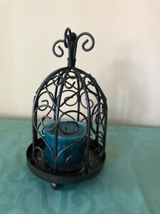 Beautiful birdcage candle holder for sale!
