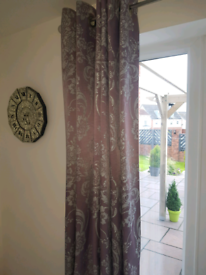 Next Curtains and Roman blinds