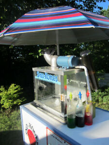 Battery Powered Sno-Kone Machine with 2 Carts(Go ANYWHERE!)