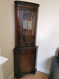 Corner display cabinet Delivery Available