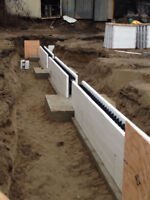 I.C.F, Foundation Specialist, Footings Commercial Residential